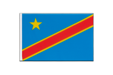 Democratic Republic of the Congo Little Flag 6x9""