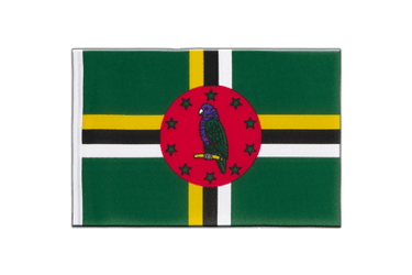 Dominica Little Flag 6x9""