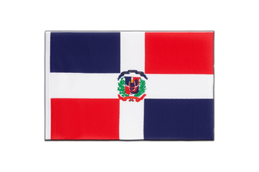 Dominican Republic Little Flag 6x9""