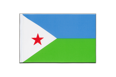 Djibouti Little Flag 6x9""