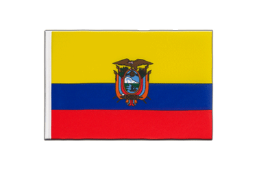 Ecuador - Little Flag 6x9""