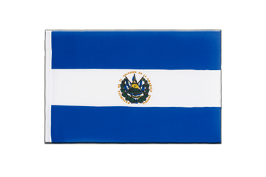 El Salvador Little Flag 6x9""
