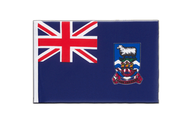 Falkland Islands - Little Flag 6x9""