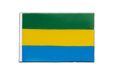 Gabon Little Flag 6x9""
