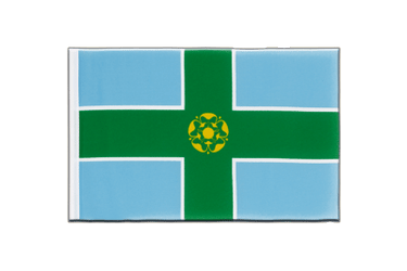 Derbyshire Little Flag 6x9""