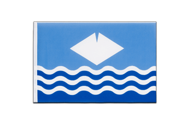 Isle of Wight - Little Flag 6x9""