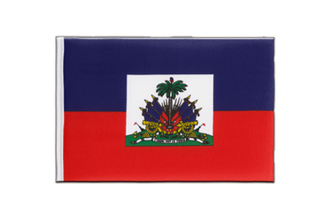 Haiti Little Flag 6x9""