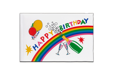 Fanion Happy Birthday - 15 x 22 cm