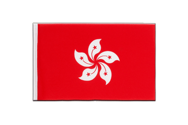 Hong Kong Little Flag 6x9""