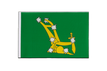 Starry Plough green 1916-1934 - Little Flag 6x9""