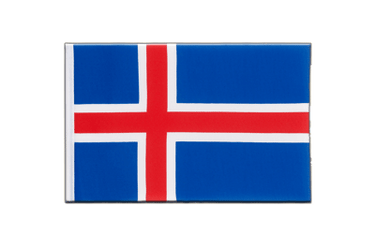 Iceland - Little Flag 6x9""