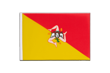 Italy Sicily - Little Flag 6x9""
