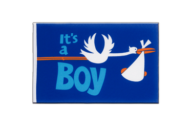 It's a boy Little Flag 6x9""