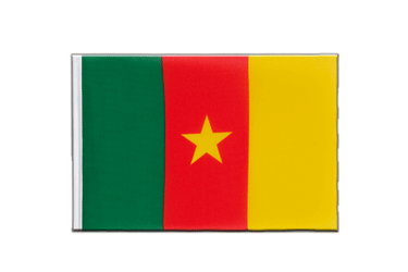 Cameroon - Little Flag 6x9""
