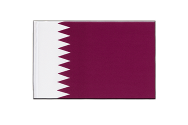 Qatar Little Flag 6x9""