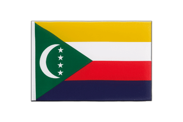 Comoros - Little Flag 6x9""