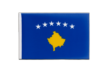 Kosovo - Little Flag 6x9""