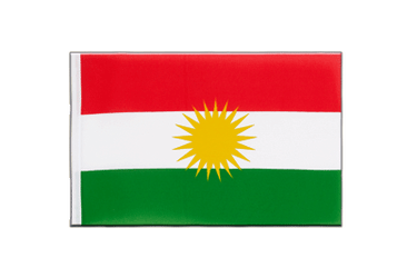Kurdistan Little Flag 6x9""