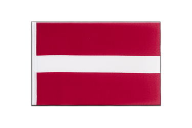 Latvia Little Flag 6x9""