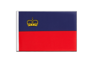 Liechtenstein - Little Flag 6x9""