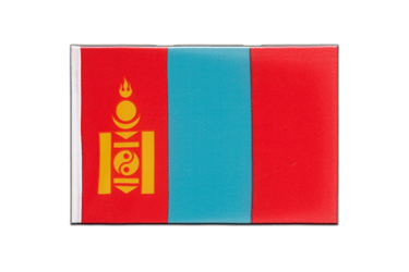 Mongolia - Little Flag 6x9""