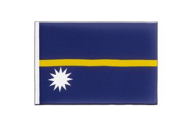 Nauru - Little Flag 6x9""