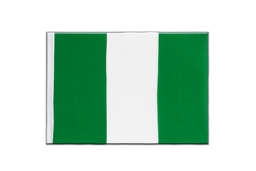 Nigeria - Little Flag 6x9""