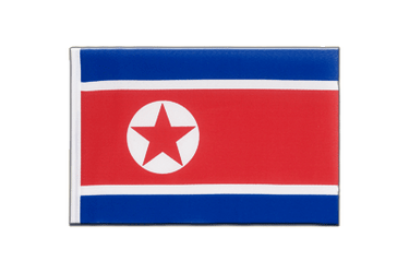 North corea Little Flag 6x9""