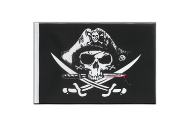 Pirate with bloody sabre Little Flag 6x9""