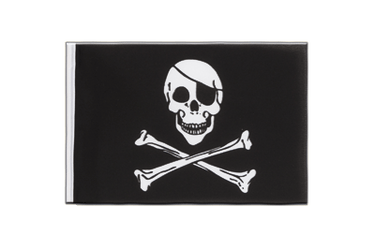 Pirate Skull and Bones  Little 6x9""