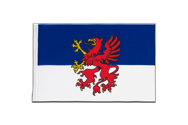 Pomerania - Little Flag 6x9""