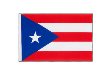 Puerto Rico Little Flag 6x9""