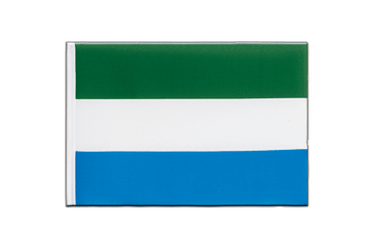 Sierra Leone - Little Flag 6x9""
