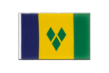 Fanion Saint Vincent et les Grenadines 15 x 22 cm