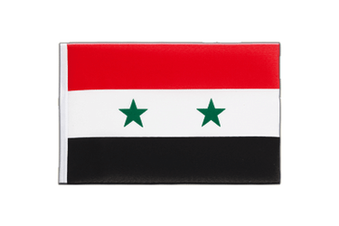 Syria - Little Flag 6x9""