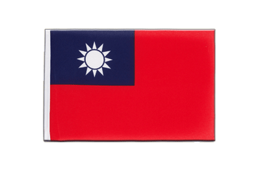 Taiwan Little Flag 6x9""