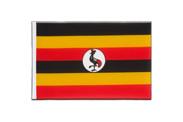 Uganda Little Flag 6x9""