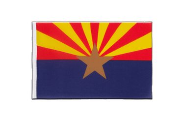 Arizona - Little Flag 6x9""