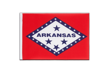Arkansas - Little Flag 6x9""