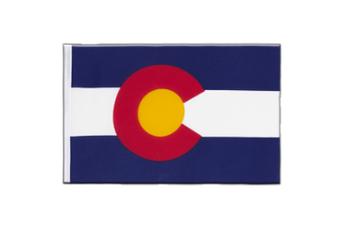 Colorado - Little Flag 6x9""