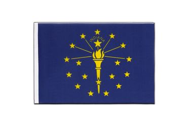 Indiana Little Flag 6x9""