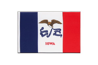 Iowa Little Flag 6x9""