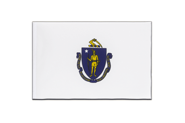 Massachusetts Little Flag 6x9""