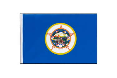 Minnesota Little Flag 6x9""