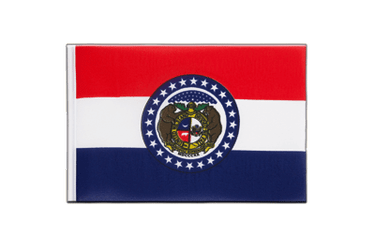 Missouri Little Flag 6x9""