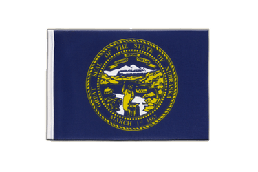 Nebraska Little Flag 6x9""