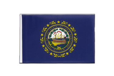 New Hampshire - Little Flag 6x9""