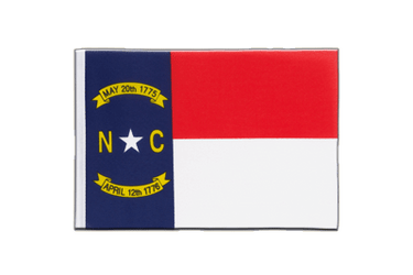 North Carolina - Little Flag 6x9""