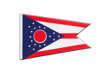 Ohio Little Flag 6x9""