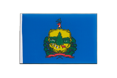 Vermont - Little Flag 6x9""
